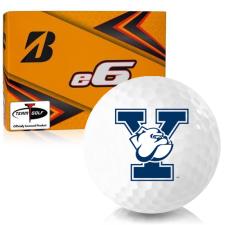 Bridgestone e6 Yale Bulldogs Golf Balls