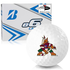 Bridgestone e6 Lady Arizona Coyotes Golf Balls