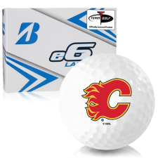 Bridgestone e6 Lady Calgary Flames Golf Balls