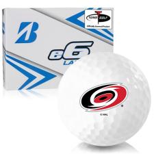 Bridgestone e6 Lady Carolina Hurricanes Golf Balls