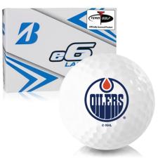 Bridgestone e6 Lady Edmonton Oilers Golf Balls