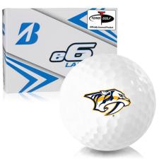 Bridgestone e6 Lady Nashville Predators Golf Balls