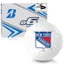 Bridgestone e6 Lady New York Rangers Golf Balls
