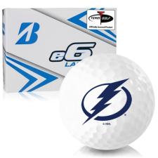 Bridgestone e6 Lady Tampa Bay Lightning Golf Balls