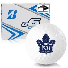 Bridgestone e6 Lady Toronto Maple Leafs Golf Balls