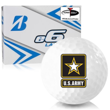 Bridgestone e6 Lady US Army Golf Balls
