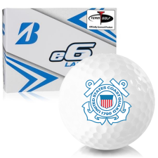 Bridgestone e6 Lady US Coast Guard Golf Balls