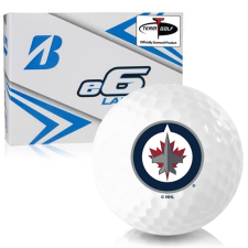 Bridgestone e6 Lady Winnipeg Jets Golf Balls
