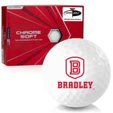 Callaway Golf Chrome Soft Bradley Braves Golf Balls