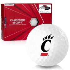 Callaway Golf Chrome Soft Cincinnati Bearcats Golf Balls
