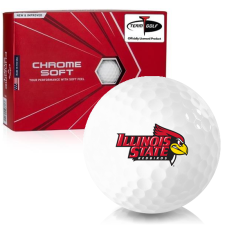 Callaway Golf Chrome Soft Illinois State Redbirds Golf Balls