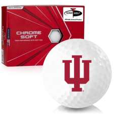 Callaway Golf Chrome Soft Indiana Hoosiers Golf Balls
