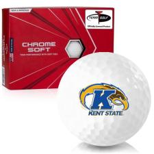 Callaway Golf Chrome Soft Kent State Golden Flashes Golf Balls