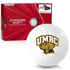 Callaway Golf Chrome Soft Maryland Baltimore County Retrievers Golf Balls