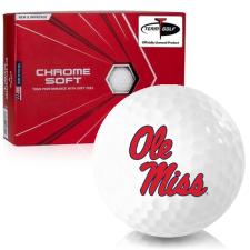 Callaway Golf Chrome Soft Ole Miss Rebels Golf Balls