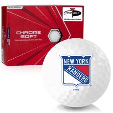 Callaway Golf 2020 Chrome Soft New York Rangers Golf Balls