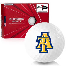 Callaway Golf Chrome Soft North Carolina A&T Aggies Golf Balls