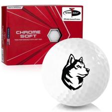Callaway Golf Chrome Soft Northeastern Huskies Golf Balls