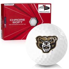 Callaway Golf Chrome Soft Oakland Golden Grizzlies Golf Balls
