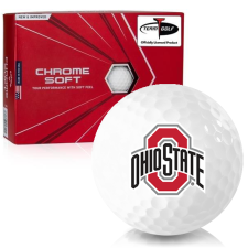 Callaway Golf Chrome Soft Ohio State Buckeyes Golf Balls
