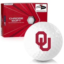 Callaway Golf Chrome Soft Oklahoma Sooners Golf Balls