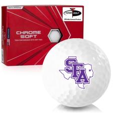 Callaway Golf Chrome Soft Stephen F. Austin Lumberjacks Golf Balls