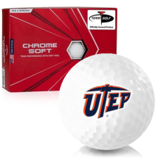 Callaway Golf Chrome Soft Texas El Paso Miners Golf Balls
