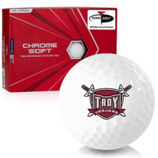 Callaway Golf Chrome Soft Troy Trojans Golf Balls