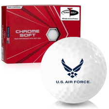 Callaway Golf 2020 Chrome Soft US Air Force Golf Balls