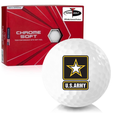 Callaway Golf 2020 Chrome Soft US Army Golf Balls