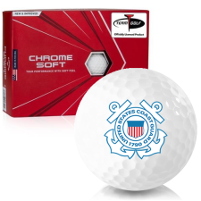 Callaway Golf 2020 Chrome Soft US Coast Guard Golf Balls