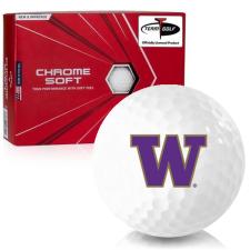 Callaway Golf Chrome Soft Washington Huskies Golf Balls