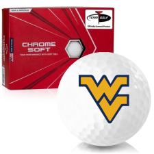 Callaway Golf Chrome Soft West Virginia Mountaineers Golf Balls