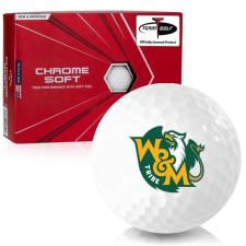Callaway Golf Chrome Soft William & Mary Tribe Golf Balls