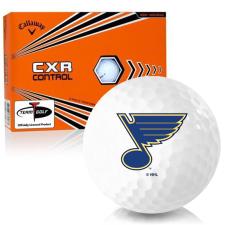 Callaway Golf CXR Control St. Louis Blues Golf Balls