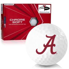 Callaway Golf Chrome Soft Triple Track Alabama Crimson Tide Golf Balls