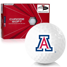 Callaway Golf Chrome Soft Triple Track Arizona Wildcats Golf Balls