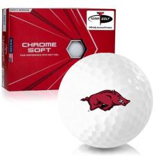 Callaway Golf Chrome Soft Triple Track Arkansas Razorbacks Golf Balls