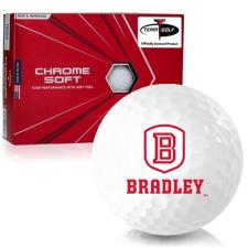 Callaway Golf Chrome Soft Triple Track Bradley Braves Golf Balls