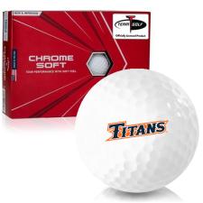 Callaway Golf Chrome Soft Triple Track Cal State Fullerton Titans Golf Balls