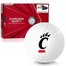 Callaway Golf Chrome Soft Triple Track Cincinnati Bearcats Golf Balls