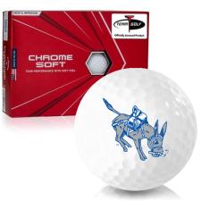 Callaway Golf Chrome Soft Triple Track Colorado School of Mines Orediggers Golf Balls