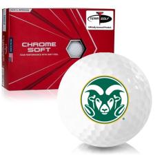 Callaway Golf Chrome Soft Triple Track Colorado State Rams Golf Balls