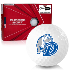 Callaway Golf Chrome Soft Triple Track Drake Bulldogs Golf Balls