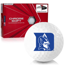 Callaway Golf Chrome Soft Triple Track Duke Blue Devils Golf Balls