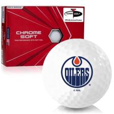 Callaway Golf Chrome Soft Triple Track Edmonton Oilers Golf Balls