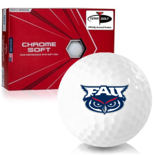 Callaway Golf Chrome Soft Triple Track Florida Atlantic Owls Golf Balls
