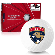 Callaway Golf Chrome Soft Triple Track Florida Panthers Golf Balls