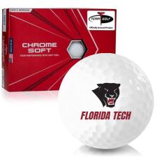 Callaway Golf Chrome Soft Triple Track Florida Tech Panthers Golf Balls