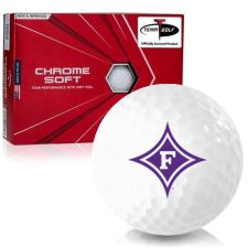 Callaway Golf Chrome Soft Triple Track Furman Paladins Golf Balls